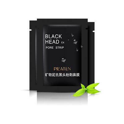 Črna luščilna maska Pilaten